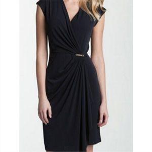Michael Kors V-neck Wrap Dress